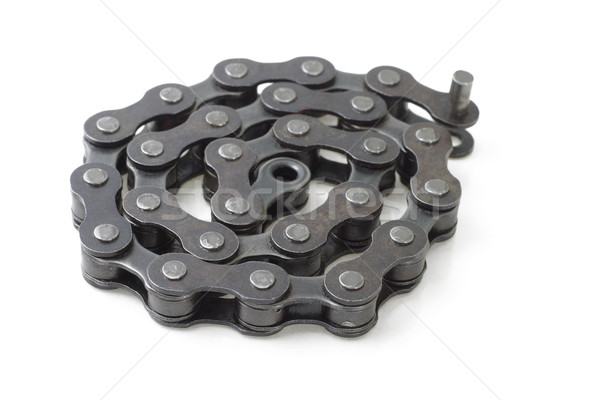 Bicycle metal link chain  Stock photo © dezign56
