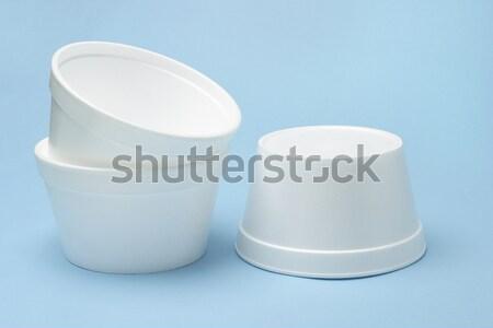 Styrofoam bowls  Stock photo © dezign56