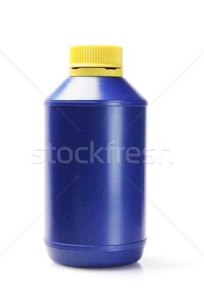 Blu bianco chimica plastica riciclare Foto d'archivio © dezign56