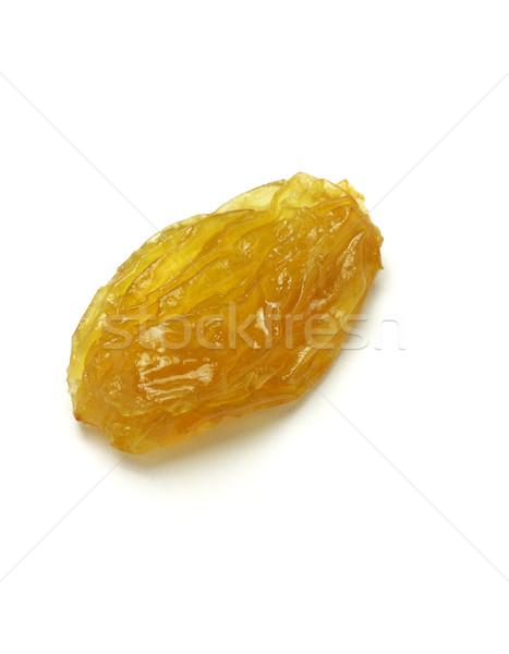 Arany mazsola méret fehér természet gyümölcs Stock fotó © dezign56
