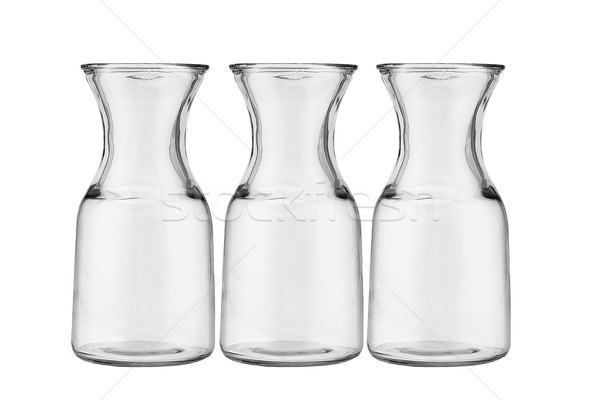 Three glass jugs  Stock photo © dezign56