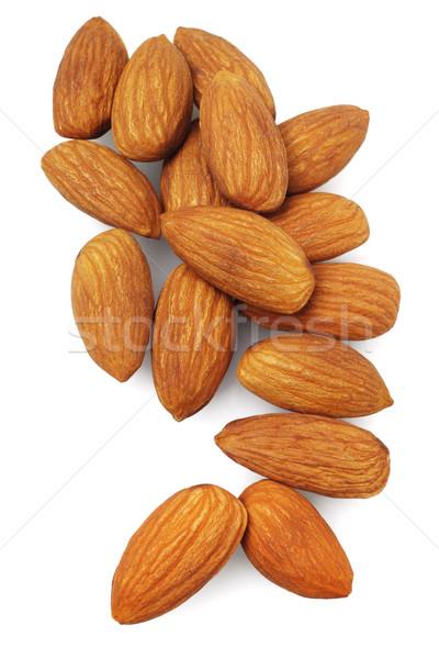 Fresh Almond Nuts Stock photo © dezign56