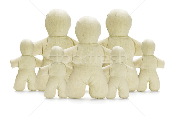 Dummy Figurines Family Concept Stock photo © dezign56