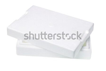Styrofoam Packing Box Stock photo © dezign56