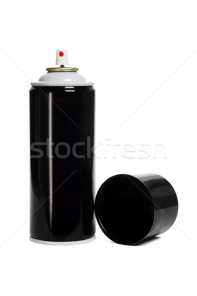 Black and blank aerosol can  Stock photo © dezign56