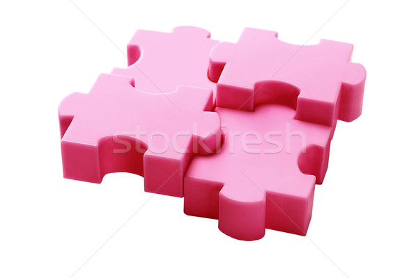 Jigsaw Puzzles Concept Stock photo © dezign56