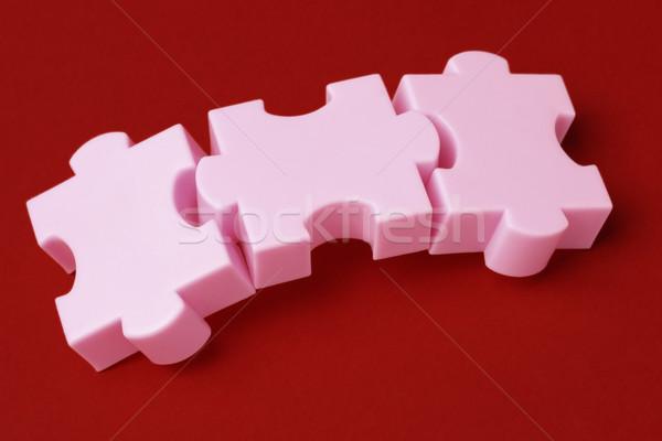 Jigsaw puzzle concept Stock photo © dezign56