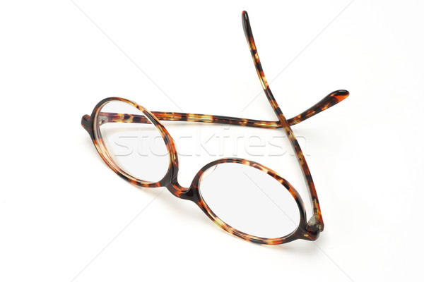 Old plastic frame spectacles Stock photo © dezign56