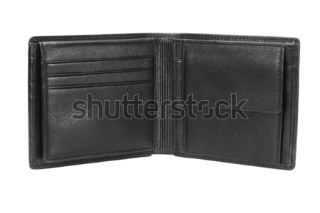 Leather Wallet Stock photo © dezign56