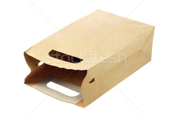 紙袋 使い捨て 紙 テクスチャ ショッピング 袋 ストックフォト © dezign56