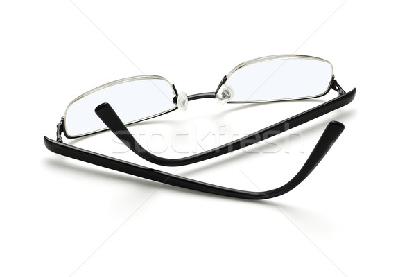 Spectacles on white Stock photo © dezign56