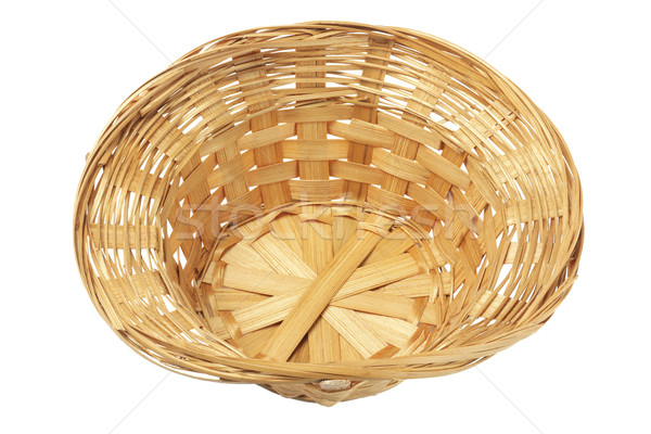 Empty Wicker Basket  Stock photo © dezign56