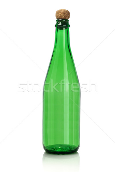Green Empty Glass Bottle Stock photo © dezign56