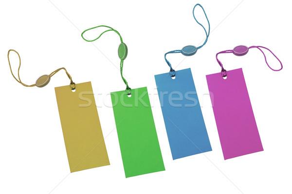 Multicolor price tags Stock photo © dezign56