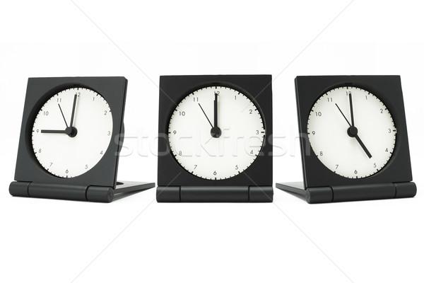 Desktop тревогу часы Сток-фото © dezign56