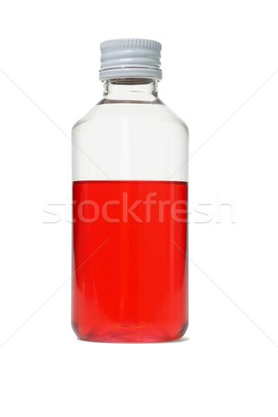 üveg orális higiénia piros szín takarítás Stock fotó © dezign56