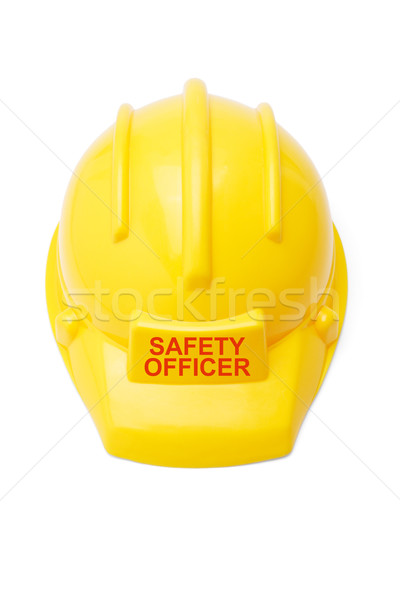 Safety helmet for safety officer Stock photo © dezign56