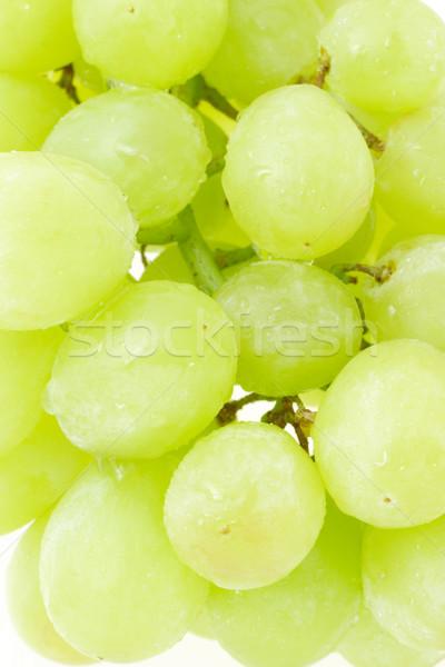 Groene druiven bos achtergrond druiven dessert Stockfoto © dezign56