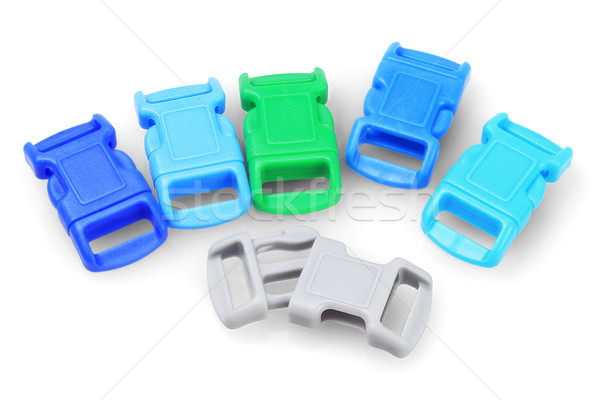 Colourful Plastic Buckles  Stock photo © dezign56