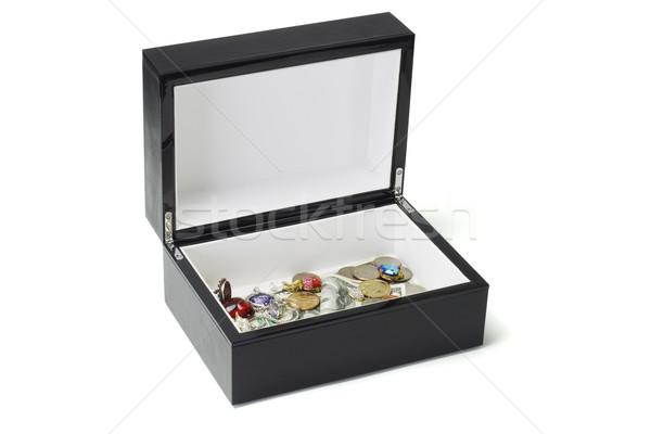 ювелирных деньги черный окна долларов монетами Сток-фото © dezign56