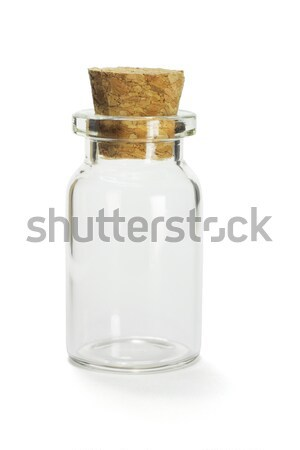 Mini empty glass container  Stock photo © dezign56
