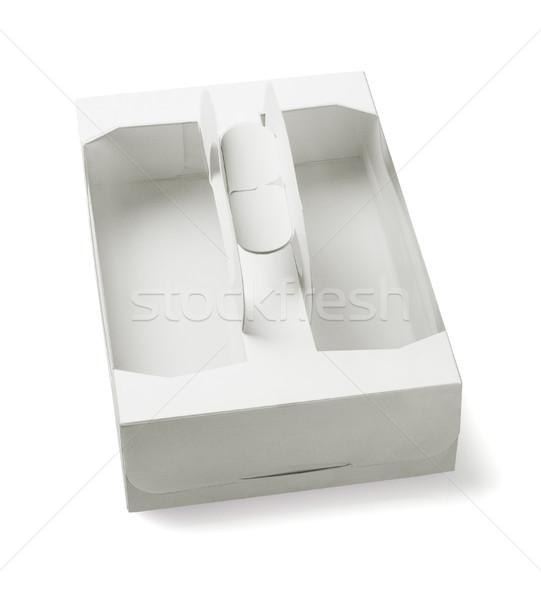 Takeaway Cake Box  Stock photo © dezign56