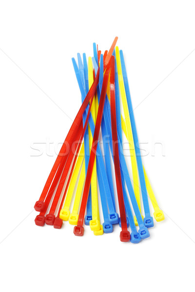 Multicolor Nylon Cable Ties Stock photo © dezign56
