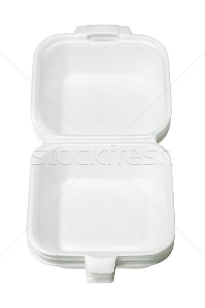 Styrofoam Takeaway Boxes Stock photo © dezign56