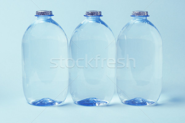 Plastic Bottles of Mineral water  Stock photo © dezign56