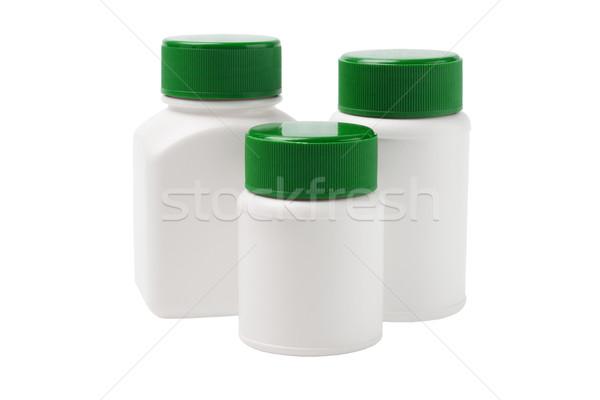Сток-фото: пластиковых · медицина · белый · медицинской · бутылку · контейнера