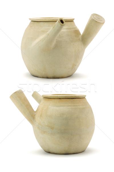 китайский глина задний банка медицина Сток-фото © dezign56