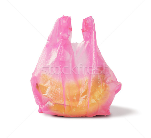 Banana in Plastic Bag Stock photo © dezign56