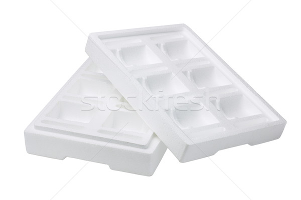 Protective Styrofoam Storage Box  Stock photo © dezign56