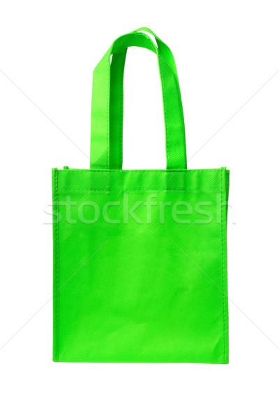 Green Shopping Bag Stock photo © dezign56