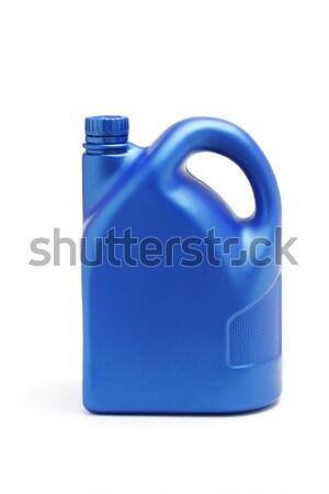 Yağ beyaz sanayi motor konteyner Stok fotoğraf © dezign56