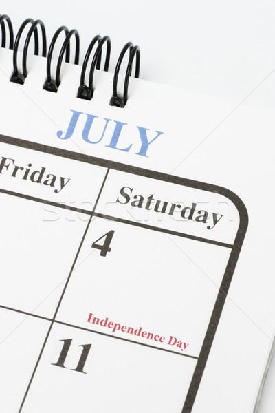 Сток-фото: американский · день · календаря · страница