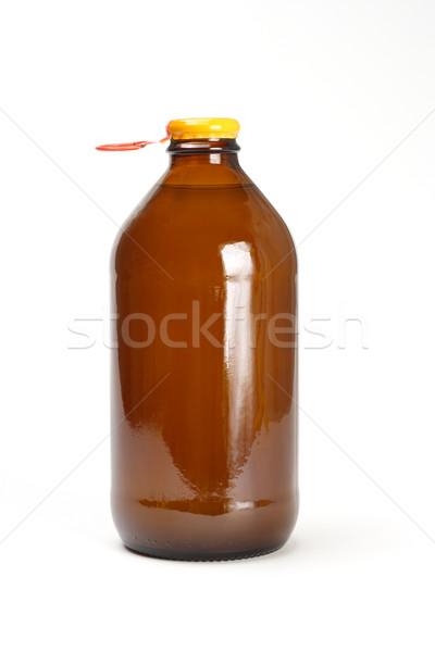 Bottle of fruit juice Stock photo © dezign56