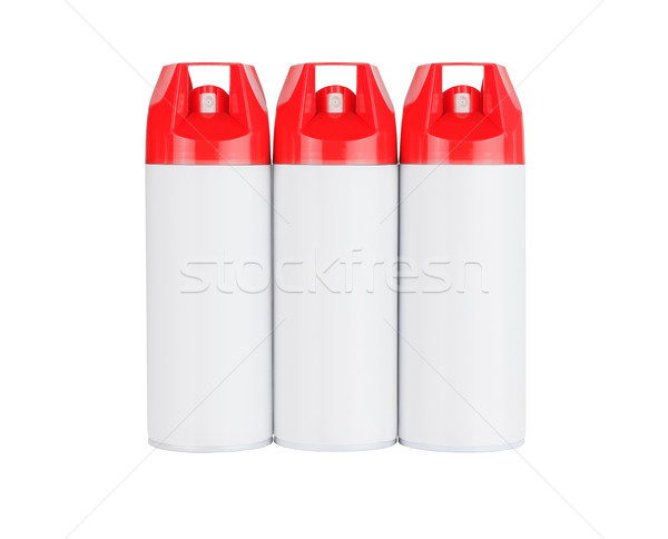 Three Spray Cans  Stock photo © dezign56