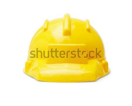 Safety First yellow hardhat  Stock photo © dezign56