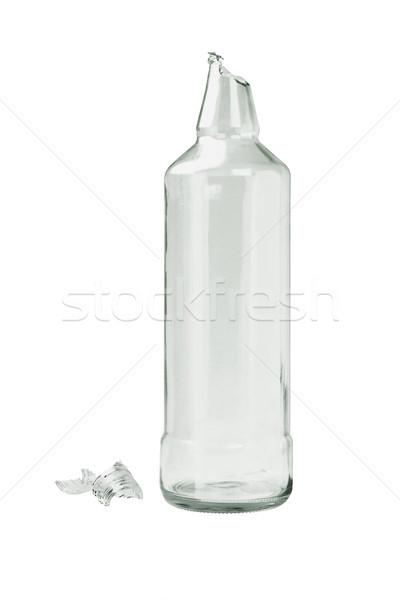 Broken Glass Bottle Stock photo © dezign56