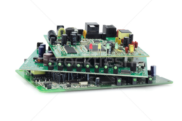 Elektronik devre bilgisayar iletişim dijital Stok fotoğraf © dezign56
