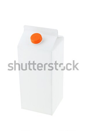 Paper carton Stock photo © dezign56
