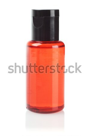 Orange Plastic Bottle  Stock photo © dezign56