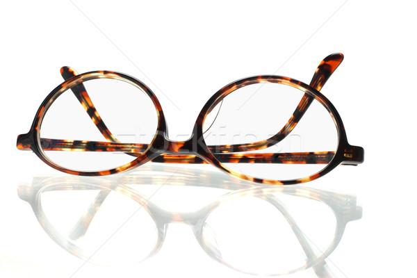 Old fashion eyeglasses Stock photo © dezign56