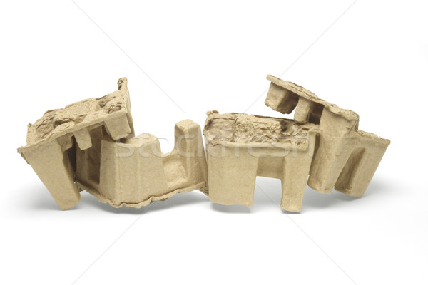 Recycled paper packing protectors Stock photo © dezign56