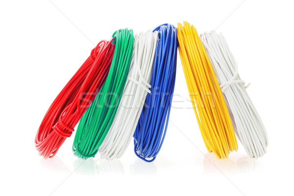 Coils of Color Wires  Stock photo © dezign56