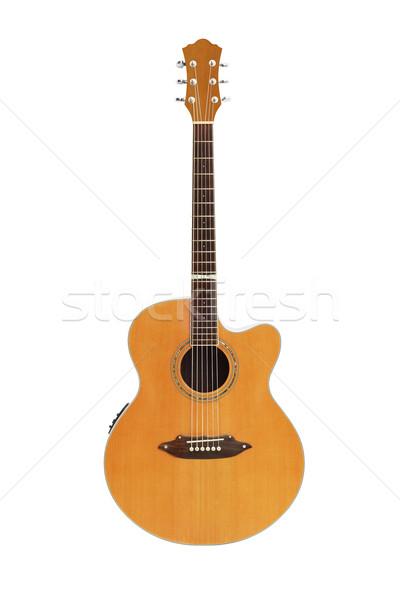 изолированный белый гитаре дизайна современных Сток-фото © dezign56