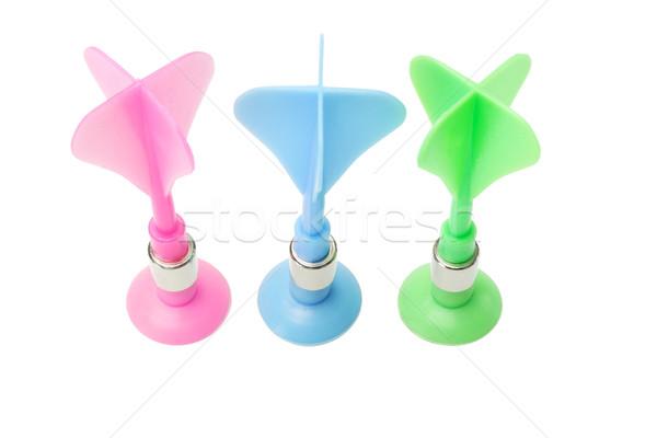 Plastic toy darts  Stock photo © dezign56