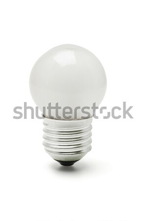 Piccolo tungsteno bianco lampada lampadina Foto d'archivio © dezign56
