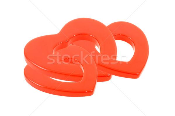 Love triangle Stock photo © dezign56